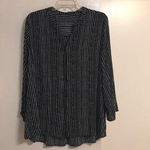 Striped blouse- new w/o tags